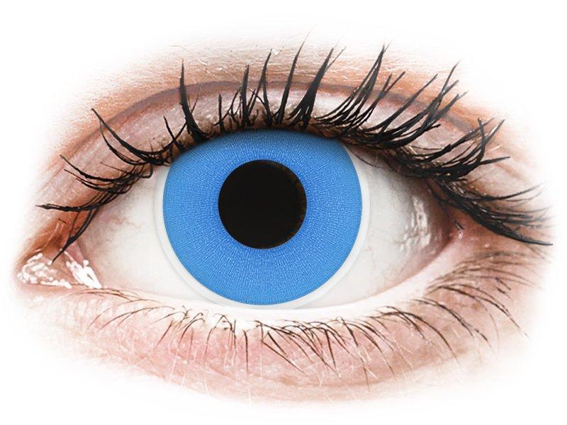 ColourVUE Crazy Lens - Sky Blue - dnevne leče brez dioptrije (2 leči)