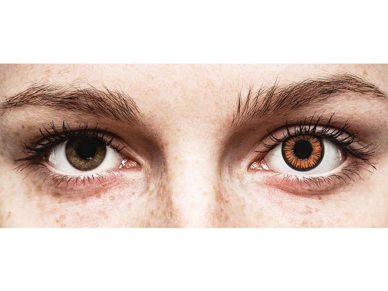 ColourVUE Crazy Lens - Twilight - dnevne leče brez dioptrije (2 leči)