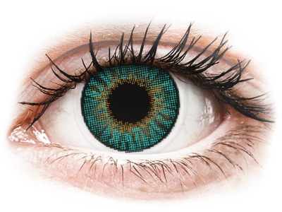 Air Optix Colors - Turquoise - z dioptrijo (2leči)
