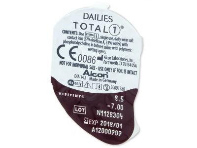 Dailies TOTAL1 (90leč) - Predogled blister embalaže