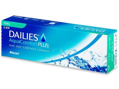 Dailies AquaComfort Plus Toric (30leč) - Torične kontaktne leče