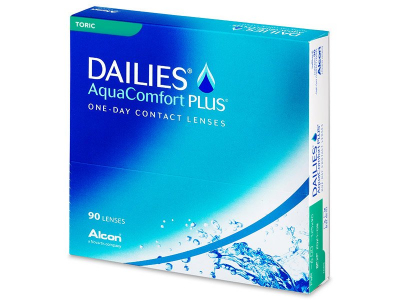 Dailies AquaComfort Plus Toric (90 leč)