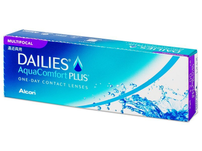 Dailies AquaComfort Plus Multifocal (30 leč)