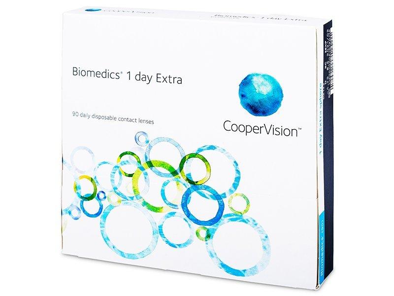 Biomedics 1 Day Extra (90leč) - Dnevne kontaktne leče
