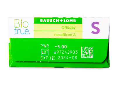 Biotrue ONEday (30leč) - Predogled lastnosti