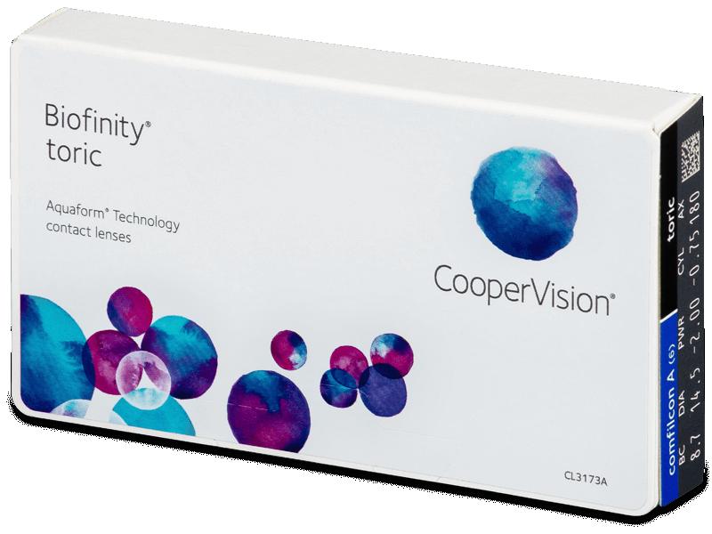 Biofinity Toric (6 leč) - Torične kontaktne leče