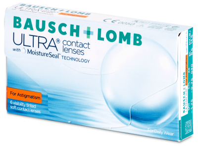 Bausch + Lomb ULTRA for Astigmatism (6 leč)