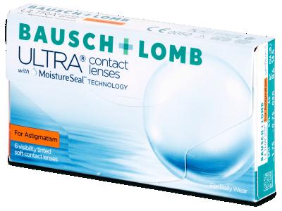 Bausch + Lomb ULTRA for Astigmatism (6 leč)