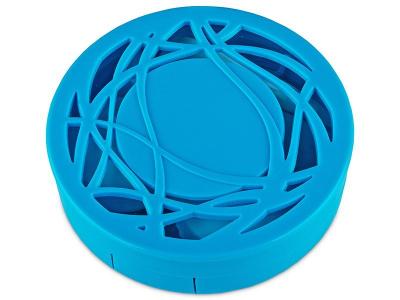 Škatlica z ogledalom - modra ornament