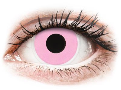 ColourVUE Crazy Lens - Barbie Pink - brez dioptrije (2 leči)