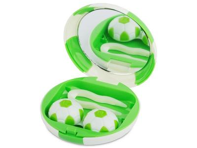 Škatlica z ogledalom Football - green
