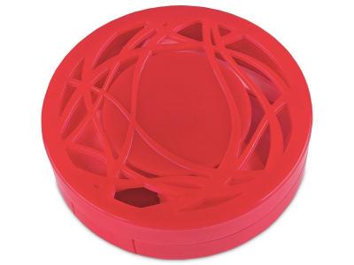 Škatlica z ogledalom - rdeča ornament