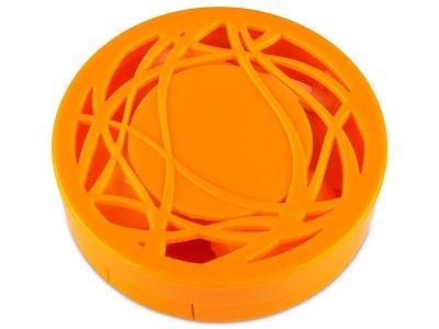 Škatlica z ogledalom - oranžna ornament