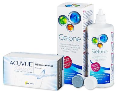 Acuvue Oasys (24 leč) + tekočina Gelone 360 ml