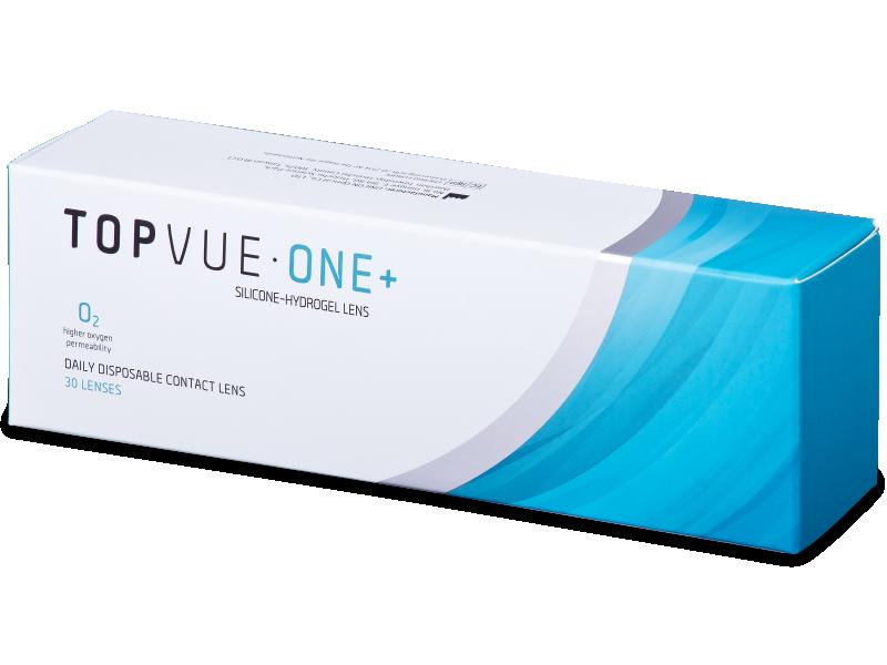 TopVue One+ (30 leč) - Dnevne kontaktne leče