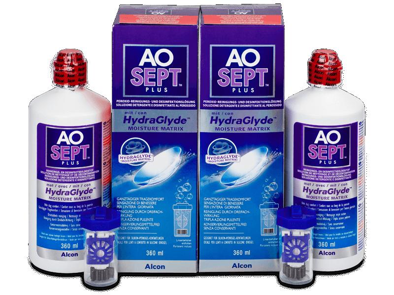 Tekočina AO SEPT PLUS HydraGlyde 2x360ml  - Ekonomično dvojno pakiranje tekočine