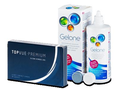 TopVue Premium (6 leč) + tekočina Gelone 360 ml