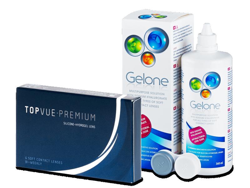 TopVue Premium (6 leč) + tekočina Gelone 360 ml - Package deal
