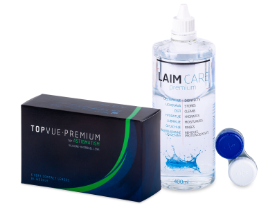 TopVue Premium for Astigmatism (6 leč) + tekočina Laim-Care 400 ml