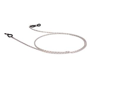 Kovinska vrvica za očala BC15 - Srebrna