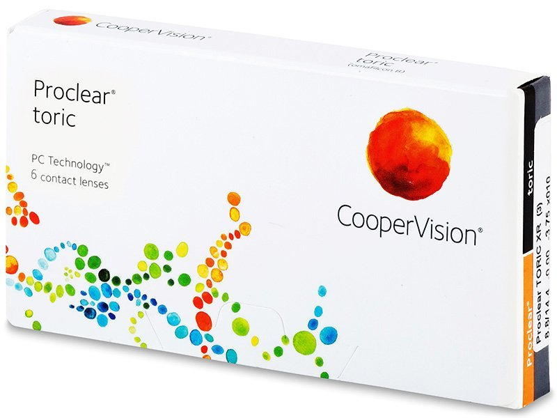 Proclear Toric XR (6leč) - Torične kontaktne leče