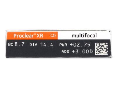 Proclear Multifocal XR (6 leč) - Predogled lastnosti
