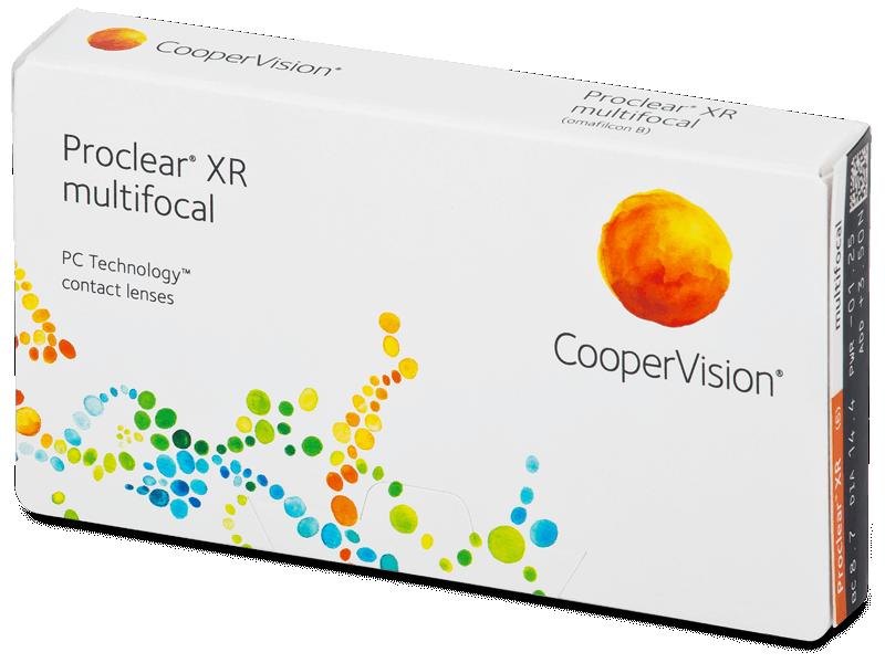 Proclear Multifocal XR (6 leč) - Multifokalne kontaktne leče