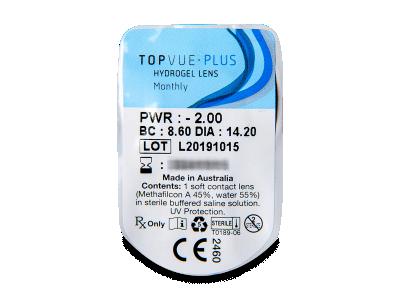 TopVue Plus (1leča) - Predogled blister embalaže