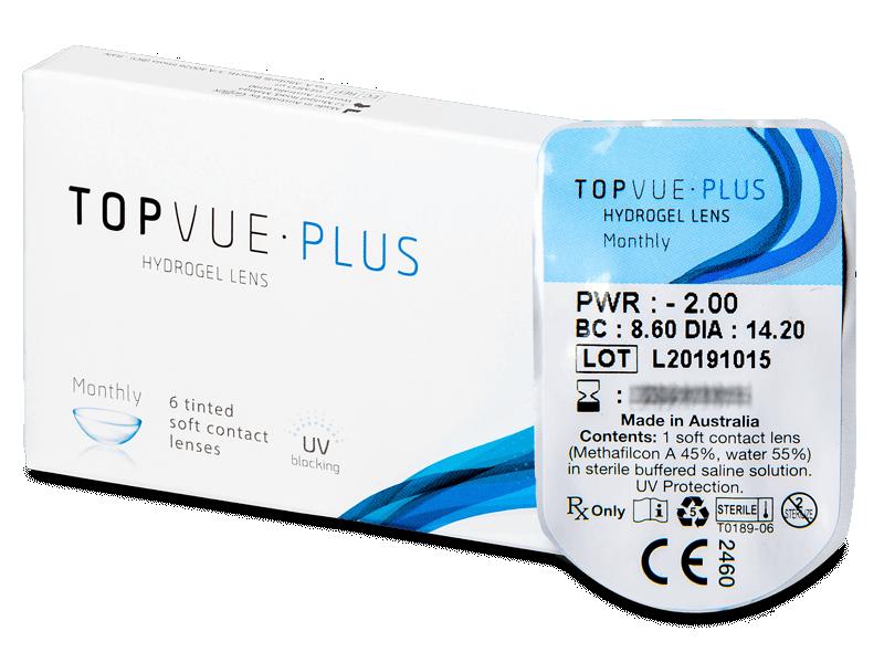 TopVue Plus (1leča) - Mesečne kontaktne leče