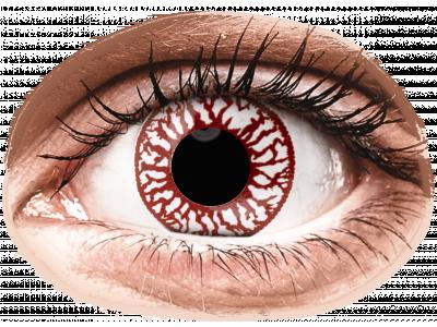 ColourVUE Crazy Lens - Blood Shot - dnevne leče brez dioptrije (2leči)