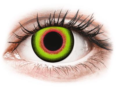 ColourVUE Crazy Lens - Mad Hatter - dnevne leče brez dioptrije (2leči)