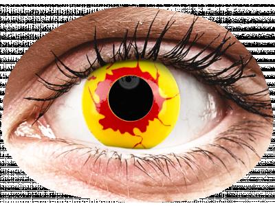 ColourVUE Crazy Lens - Reignfire - dnevne leče brez dioptrije (2leči)