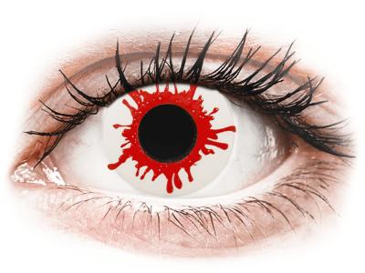 ColourVUE Crazy Lens - Wild Blood - dnevne leče brez dioptrije (2leči)
