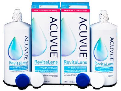 Tekočina Acuvue RevitaLens 2x 360 ml