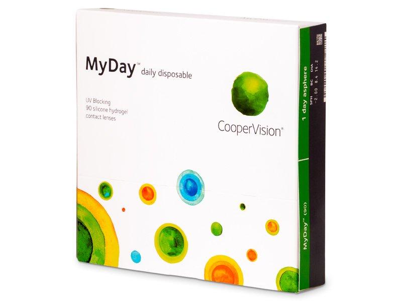 MyDay daily disposable (90leč) - Dnevne kontaktne leče