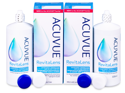 Tekočina Acuvue RevitaLens 2x 300 ml