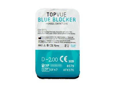 TopVue Blue Blocker (30 leč) - Predogled blister embalaže