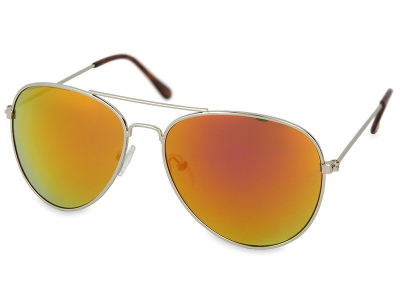 Sončna očala Silver Pilot - Pink/Orange