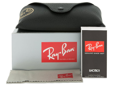 Ray-Ban Justin RB4165 - 622/5A  - Preivew pack (illustration photo)