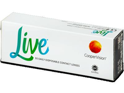 Dnevne leče Live Daily Disposable (30 leč)