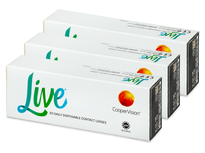 Dnevne leče Live Daily Disposable (90 leč)