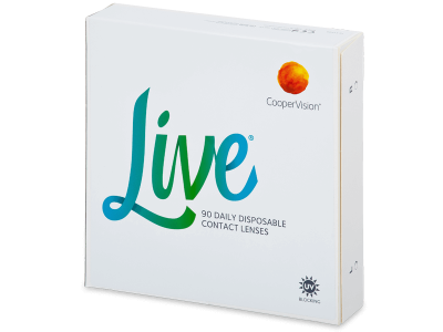 Dnevne leče Live Daily Disposable (90 leč)