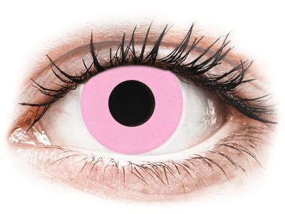 CRAZY LENS - Barbie Pink - dnevne leče z dioptrijo (2 leči)