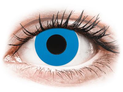 CRAZY LENS - Sky Blue - dnevne leče z dioptrijo (2 leči)