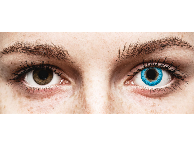 CRAZY LENS - White Walker - dnevne leče z dioptrijo (2 leči)