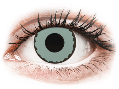 CRAZY LENS - Zombie Virus - dnevne leče brez dioptrije (2 leči)