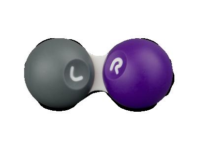 Sivo vijolična škatlica za leče