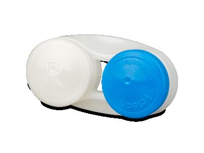 Modra antibakterijska škatlica za leče