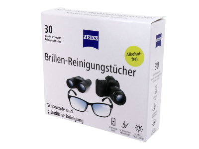 Robčki za čiščenje očal Zeiss 30 kosov