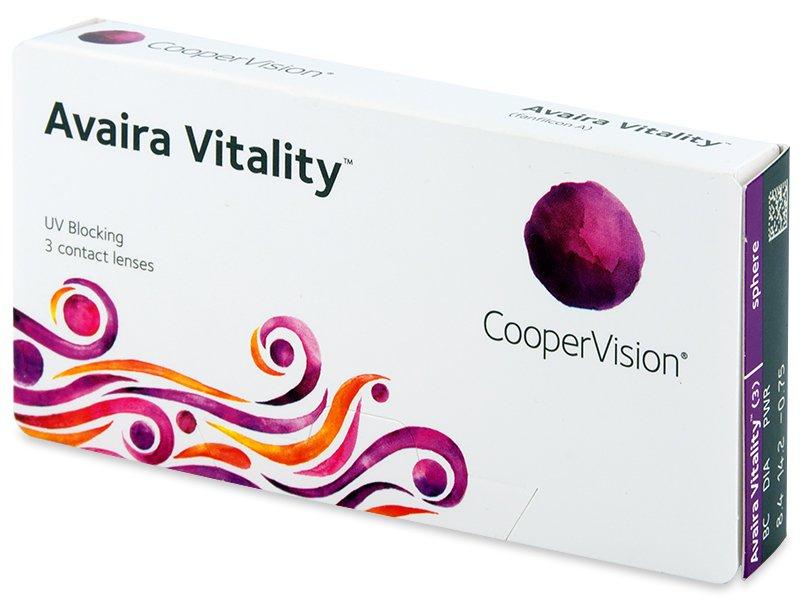 Avaira Vitality (3 leče) - Contact lenses